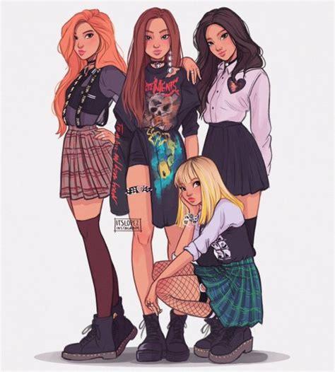 blackpink you k pop fan art tumblr