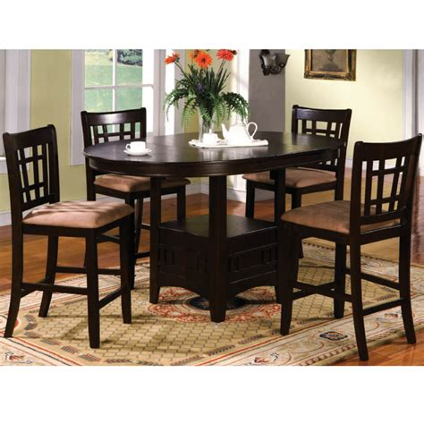 Pub Table Dining Set 5 Counter Height Dining Set By Family Leisure Family Leisure