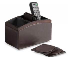 remote caddy with four coasters nbc chicago