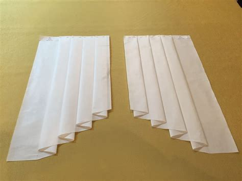How To Make L Shades by 10w X 25l Ultimate Jabot Pattern Shipped Fully Pleated