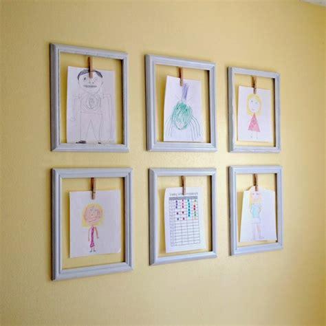 ways to display artwork creative ways to display your children s artwork