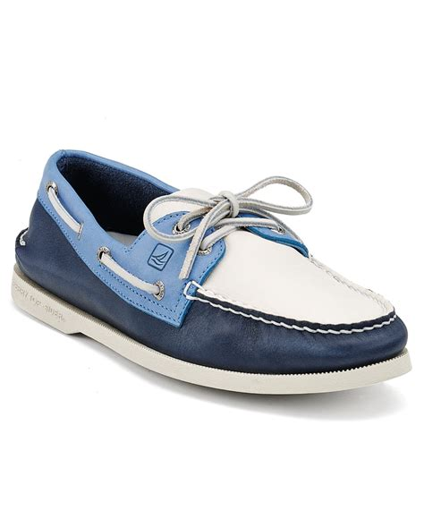 boat shoes macys sperry top sider shoes a o 2x boat shoes mens boat