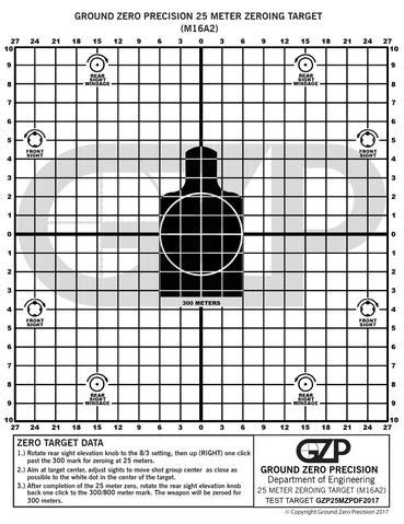 printable targets for zeroing free printable target downloads ground zero precision