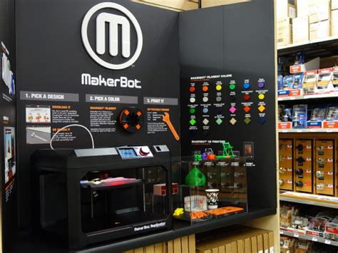 home technology store makerbot and sam s club ink 300 store deal 3dprint com