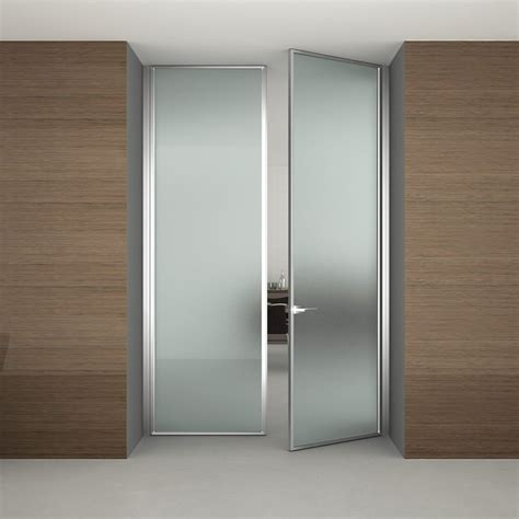 Frosted Glass Interior Double Doors For Modern Bathroom Interior Doors With Frosted Glass