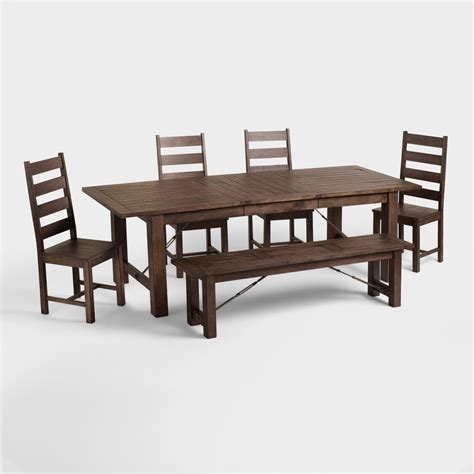 world market dining room table garner table world market images world market garner