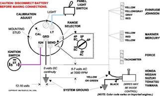 wiring up a teleflex tach page 1 iboats boating forums