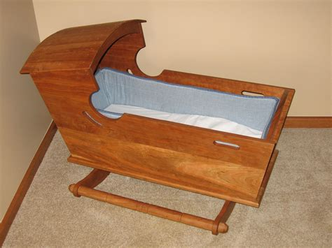 Handmade Baby Cradle - handmade rocking baby cradle by the woodcraft shoppe