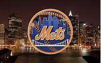 Mets Logo Wallpaper New York With City Background By