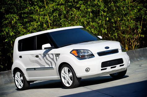 Kia White 2010 Sema Kia White Tiger And Hamstar Concepts