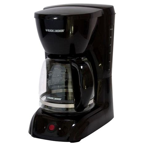 Coffee Maker Black Decker Penyeduh Kopi 1 Cup 330 Watt Dcm25 B1 black decker 12 cup coffee maker cm1200b the home depot