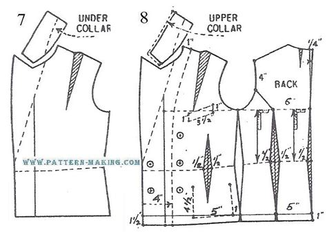 pattern making of jacket double breasted jacket 3 pattern making com