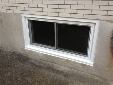 Vinyl Basement Windows Decoration : How To Replace Vinyl