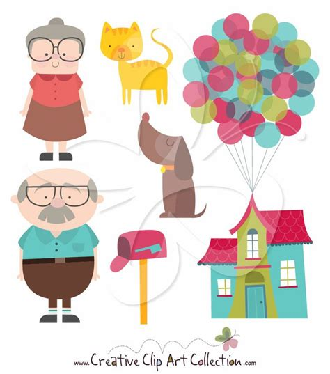 clipart collection we re moving house illustraiton clipart set by creative