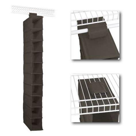 Closetmaid 30 Inch Shelf by Closetmaid 54 Inch Canteen 10 Shelf Hanging Organizer