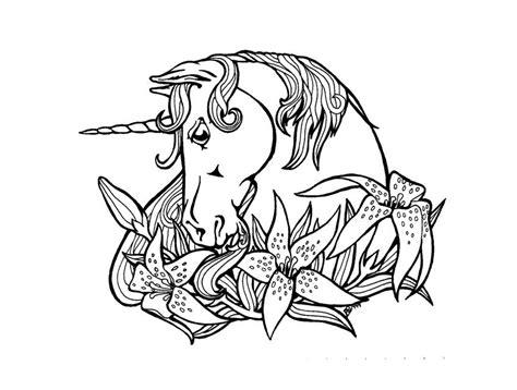 S Dessin Dessin Mandala Licorne A Imprimer L L L L