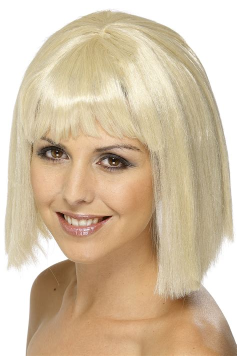 wigs for women over 80 blonde wig for women with fringe wigs and fancy dress