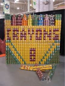 Canned Food Sculpture Ideas 1000 images about can food sculpture on pinterest