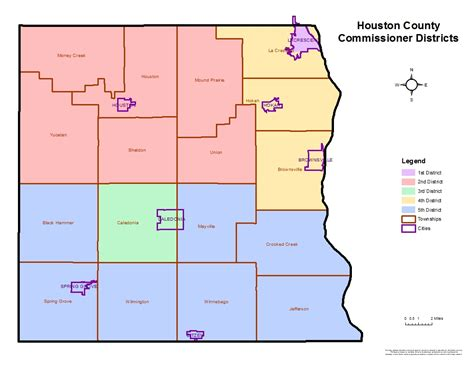 houston map by county houston mn map indiana map