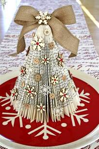 pretty paper christmas craft decoration ideas
