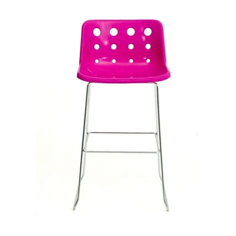 Pink Stool Chair by Loft Robin Day Skid Pink Plastic Polo Bar Stool By Fusion