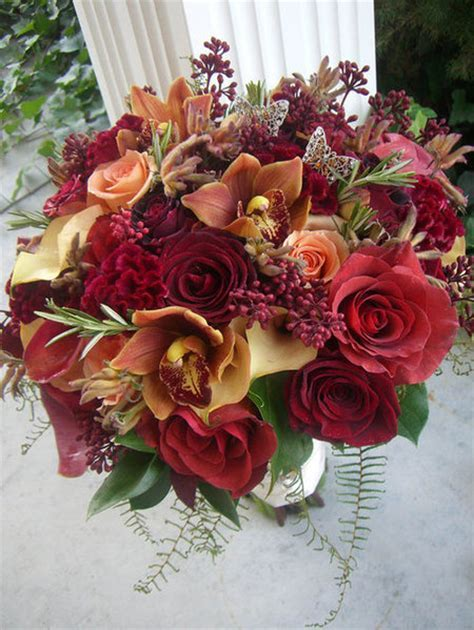 Pink, Orange and Red   Bouquet Wedding Flower   Page 4