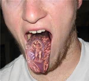 oral health risks of tongue tattoos news dentagama