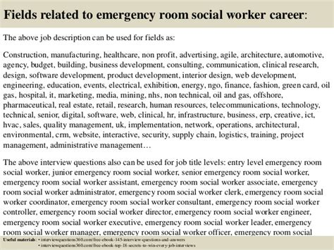 emergency room social worker description top 10 emergency room social worker questions and answers