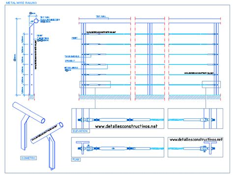 wire details steel cable detallesconstructivos net
