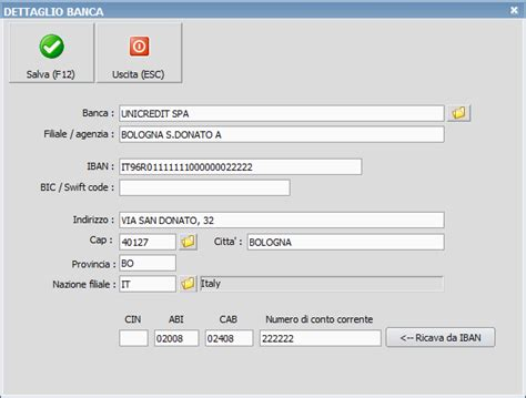 Ricerca Iban Banca by Coordinate Bancarie Ready Pro Manuale Utente