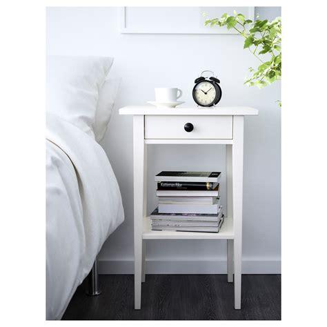 White Nightstands Ikea by Ikea Hemnes Nightstand White Stain Bedroom In 2019