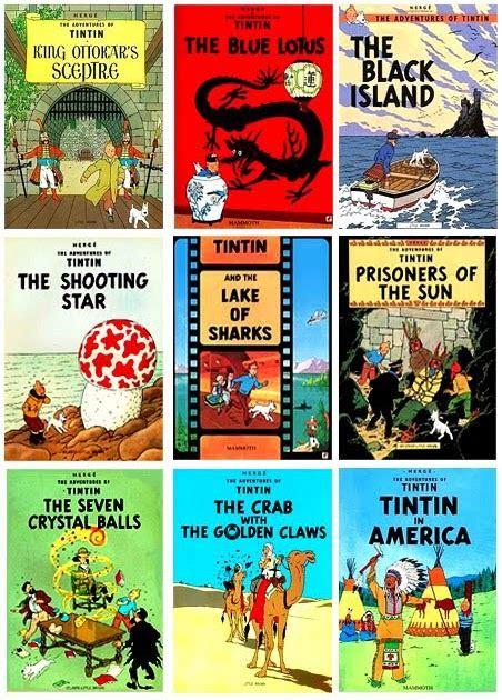 Paket 6buku Petualangan Tintin Herge blognya abdi buku komik tintin