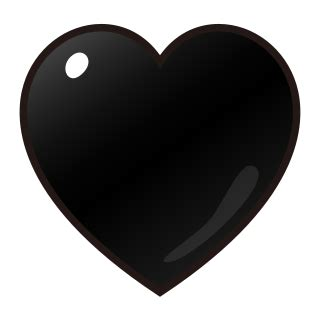 emoji heart black black heart emojidex custom emoji service and apps