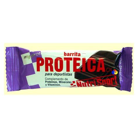 Barre De 543 by Barre De Prot 233 Ine De Chocolat Nutrisport Parafarmacia