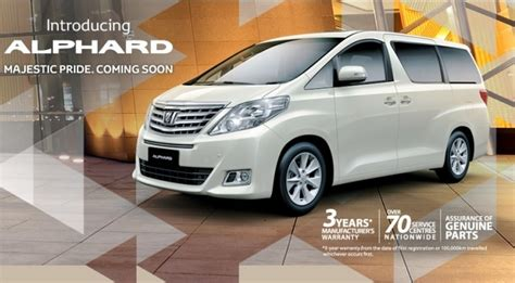 Spion Velfire Alphard 2014 2014 toyota alphard price and specs revealed in malaysia autoevolution