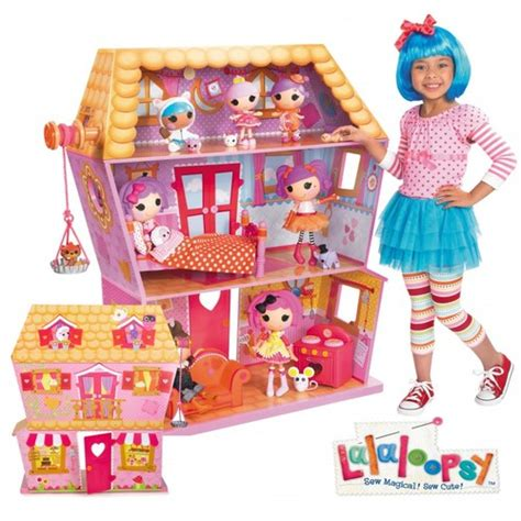 lalaloopsy dolls house lalaloopsy sew magical house 77 19 shipped from 159 99