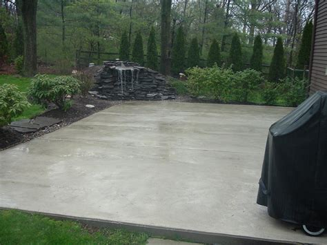 cement backyard stylish home design ideas concrete ideas for patios and decks