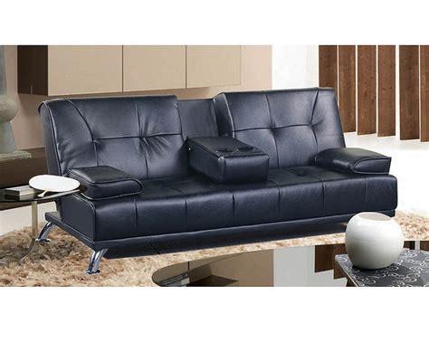 black convertible sofa convertible sofa in black finish mf 310