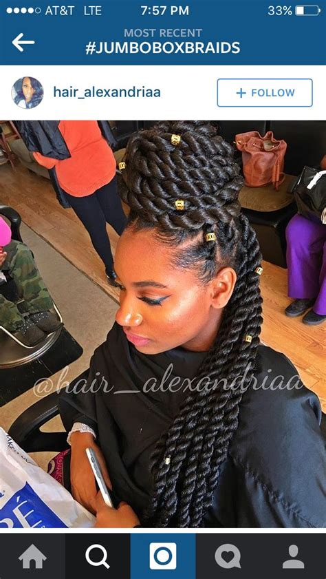 mohawk with senegalese rope twist care for relaxed hair pinterest 117 best images about havana twist on pinterest human