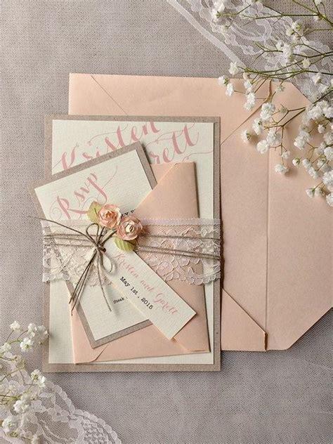 Schöne Hochzeitseinladungskarten by Vintage Hochzeit 120 Charmante Dekoideen