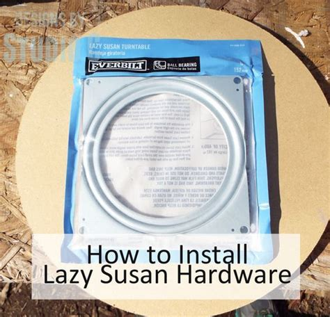 how to install lazy susan cabinet 25 best ideas about lazy susan on pipe diy