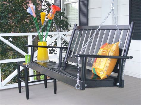 large outdoor swing furniture gt outdoor furniture gt porch gt black solid wood