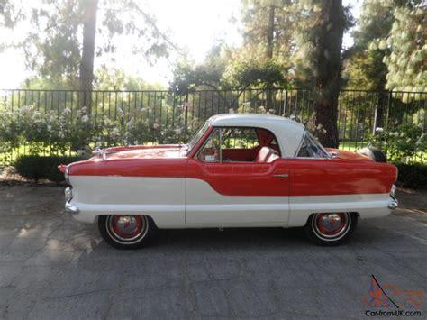 vintage cars 1960s classic car 1960 nash metropolitan antique car