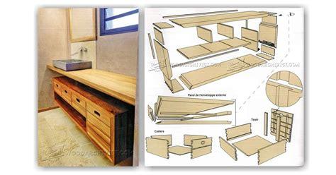 Woodworking Plans For Bathroom Vanity