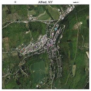 Alfred New York Map by Aerial Photography Map Of Alfred Ny New York