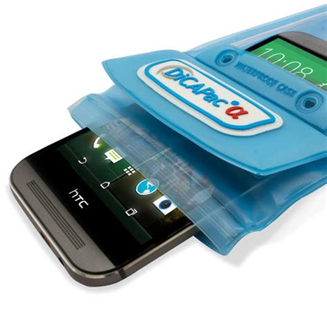 dicapac universal waterproof case for smartphones up to 5