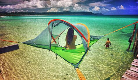 Tentsile Stingray Tent Lifts Elevated Camping to New Heights   GetdatGadget