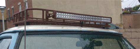 How To Build Roof Rack by Building An Inexpensive Cargo Roof Basket