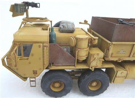 Italeri 6510s 1 35 Hemtt Gun Truck m977 hemtt gun truck italeri 1 35 oliver breithut