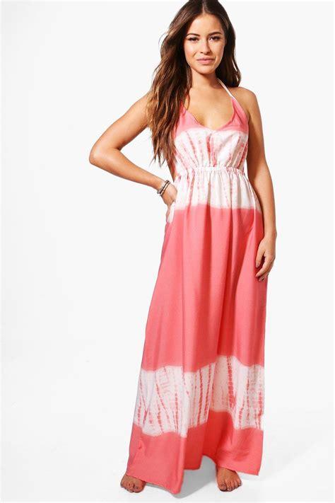 Hana Dress Xl boohoo womens hana tie dye maxi dress ebay